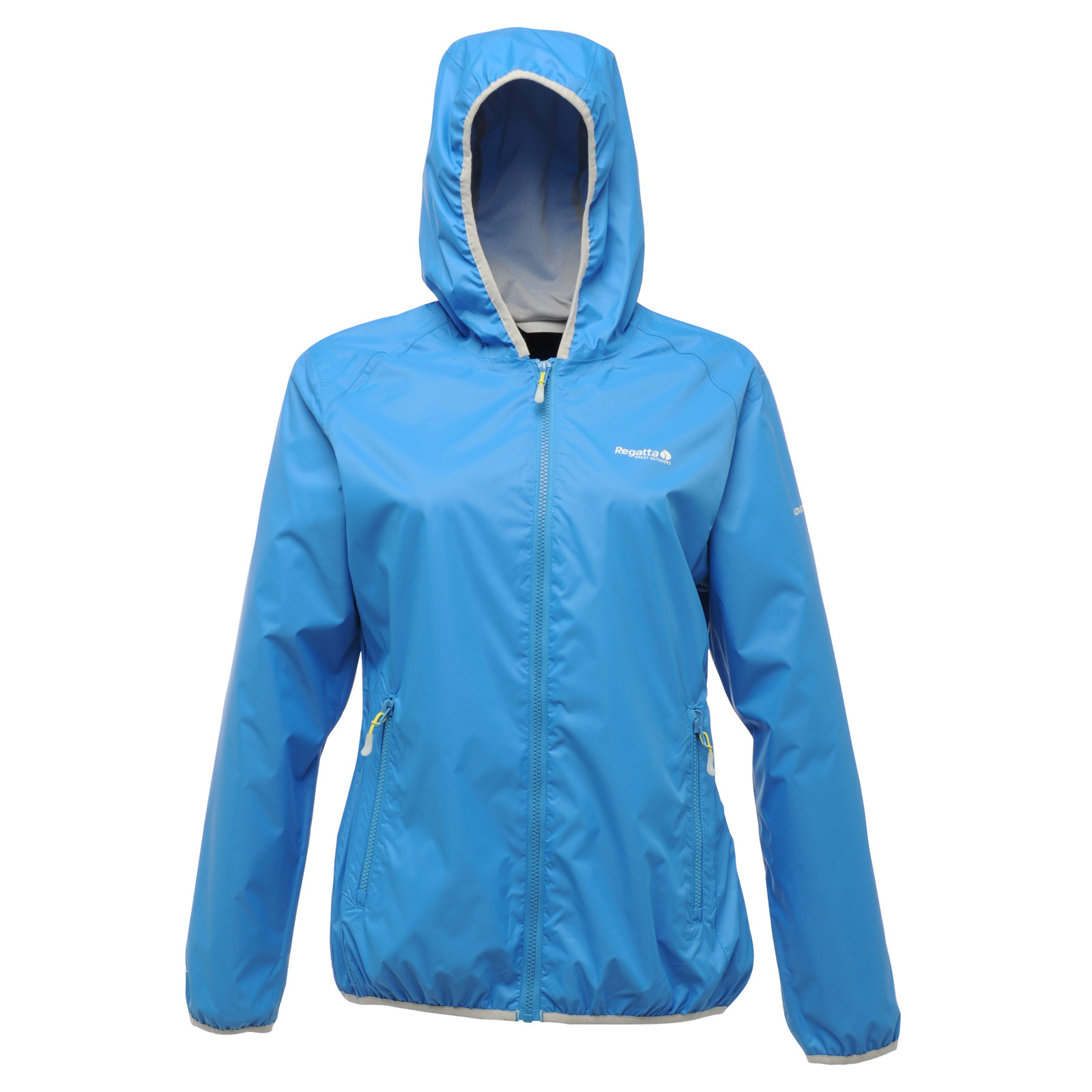 Regatta Womens Lever Waterproof Jacket With Hood Packaway Black ...