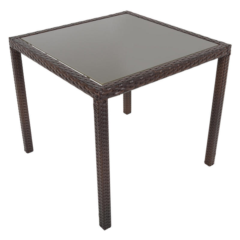 Brown Modena Rattan Wicker Dining Table With 4 Chairs  : lrgXS2563 Table 21600 from www.xs-stock.co.uk size 800 x 800 jpeg 42kB