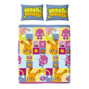Childrens Moshi Monsters Double Rotary Duvet Set