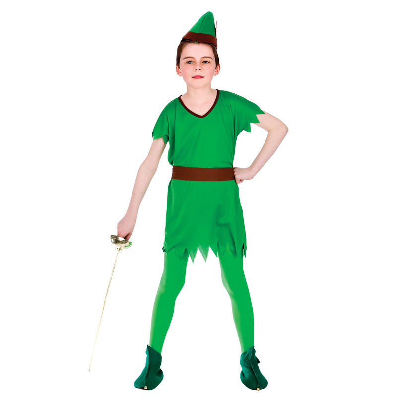 Boys fancy dress costume includes tunic belt and hat boys will love