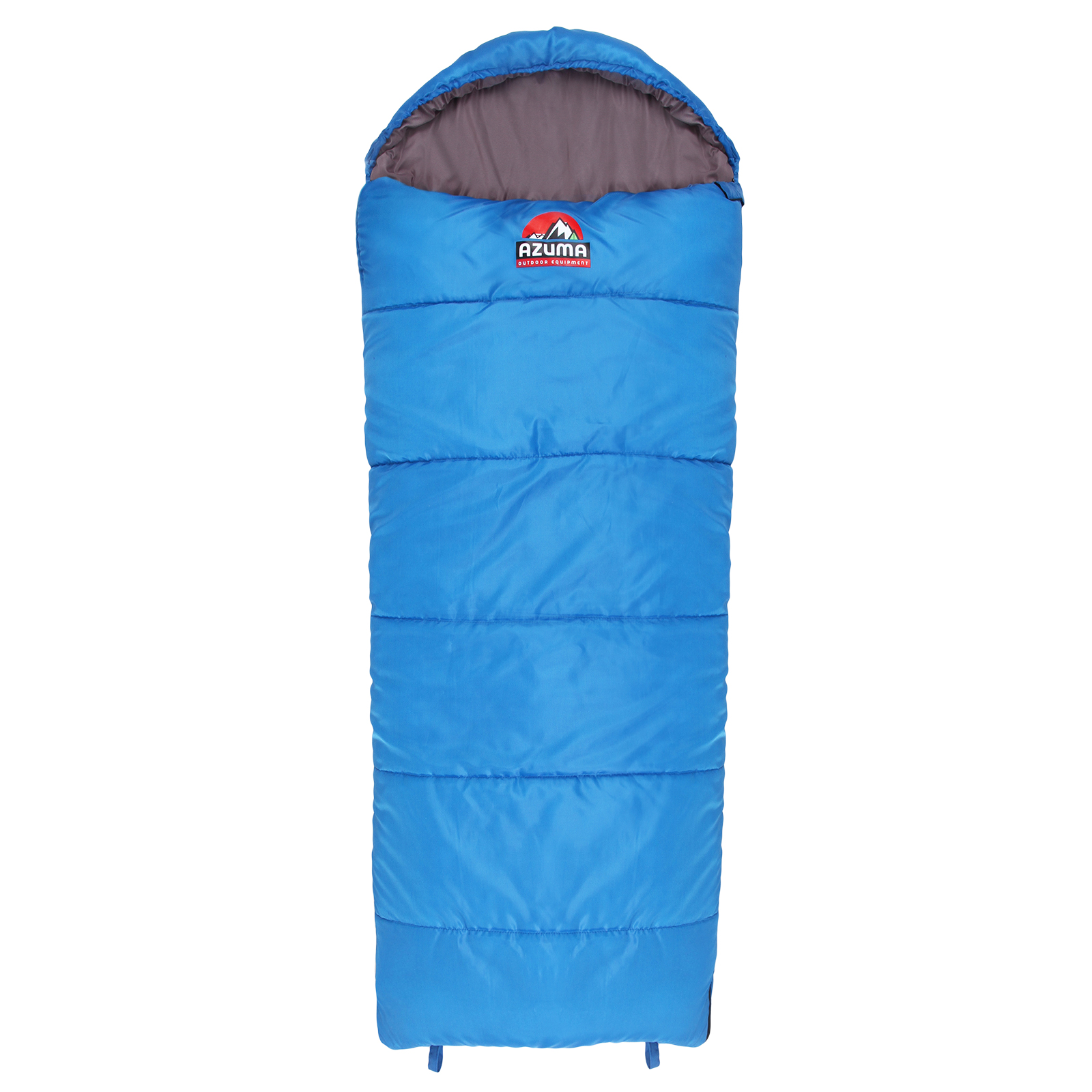 Azuma Childrens Kids Junior Mummy Sleeping Bag 1-2 Season Camping Sleepovers