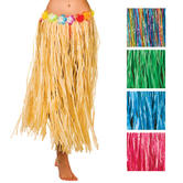 Hawaiian Grass Hula Style Skirt 80cm Long