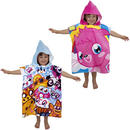 Childrens Moshi Monsters Hooded Poncho Beach Swimming Towel