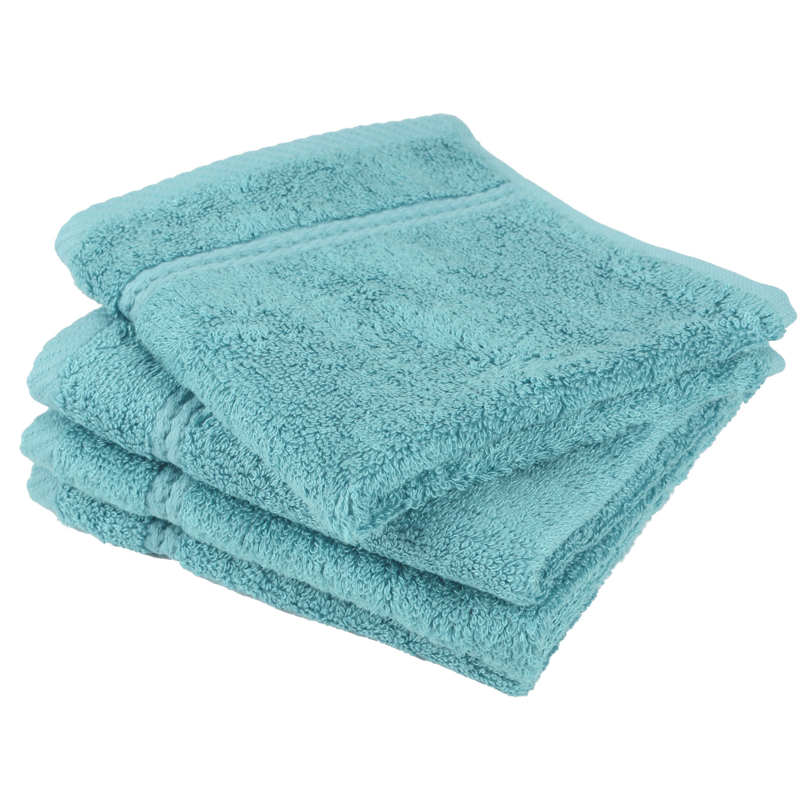 Luxury Bamboo Bathroom Bath Linen Face Cloth Flannel Towel