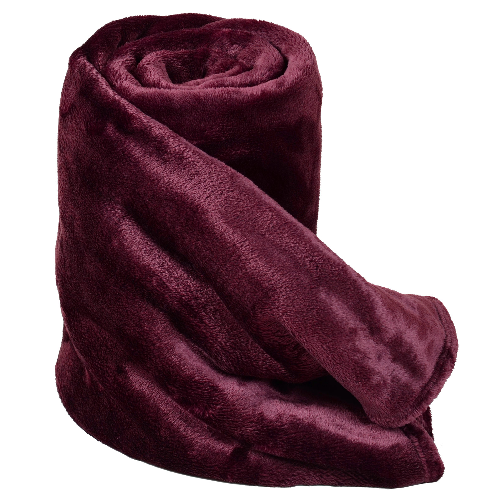 Deluxe plush fleece blanket soft cashmere touch luxury for Soft blankets and throws