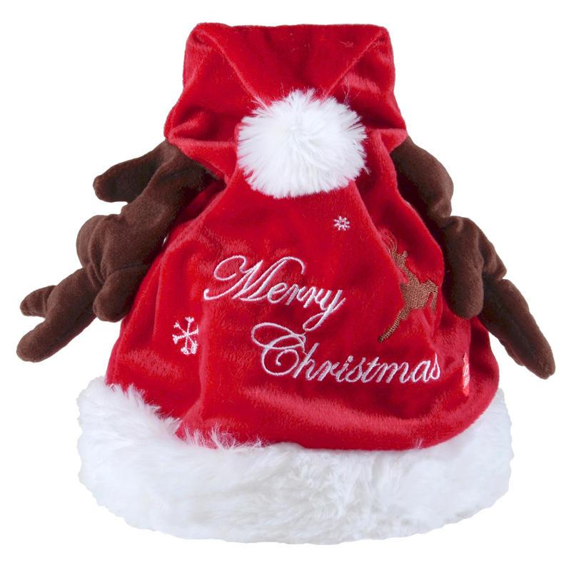 Animated musical moving jingle bells christmas reindeer