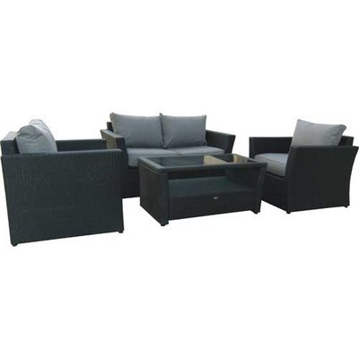 Garden Patio Chairs on Garden Patio Conservatory All Weather Rattan Sofa Set Buy Online   Low
