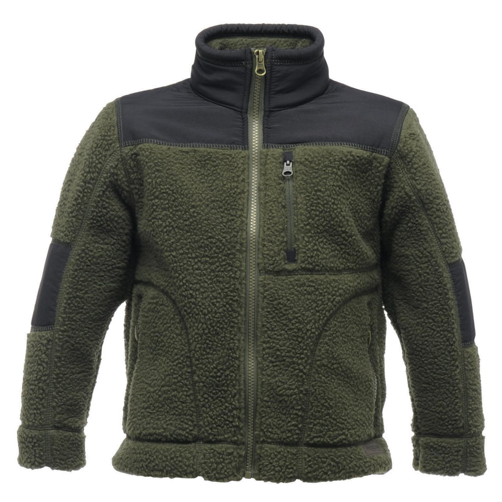 Regatta Childrens Volt Chunky Fleece Jacket Zip Up Top Outdoor