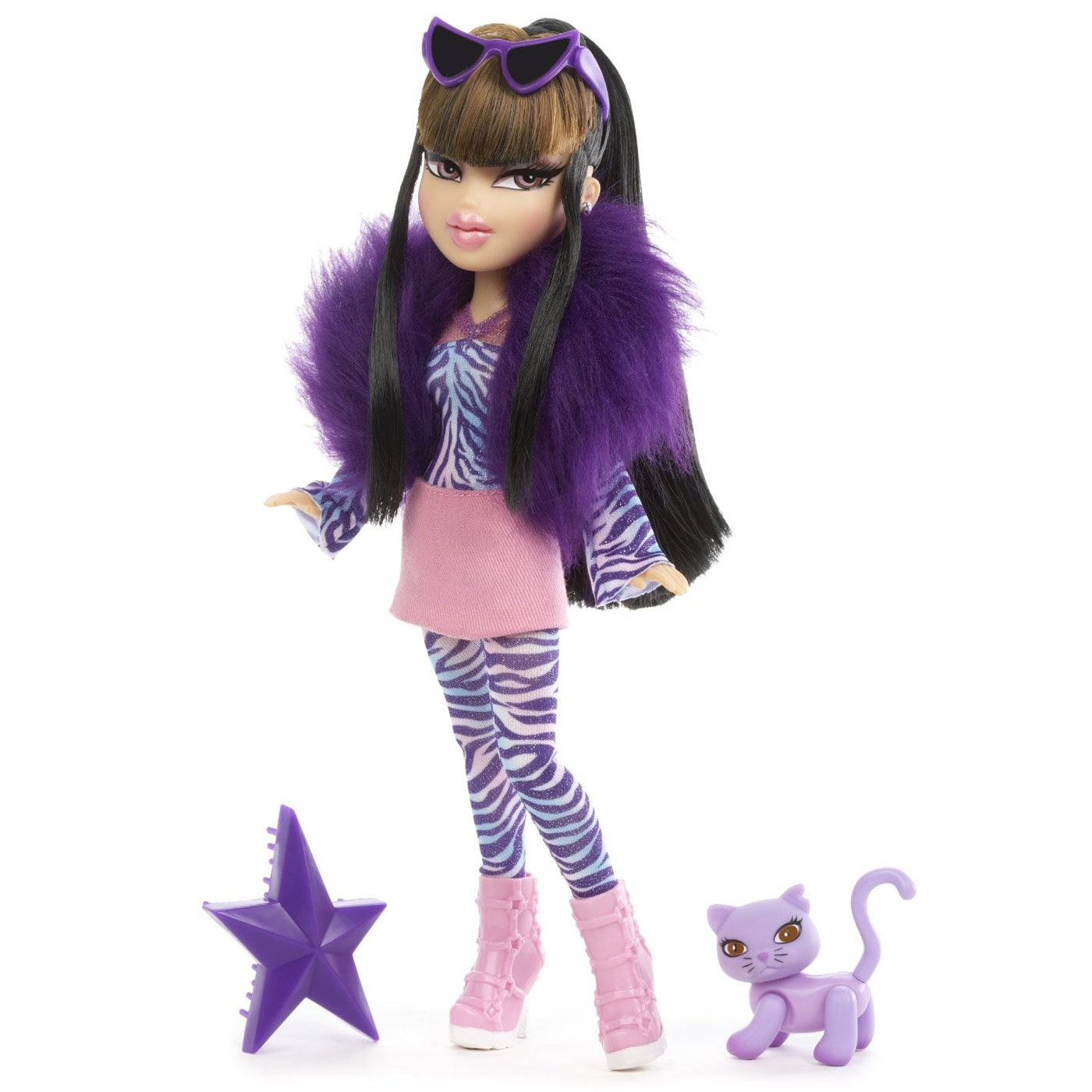 "10"" Girls Bratz Catz Fashion Doll With Pet Cat - Cloe ..."