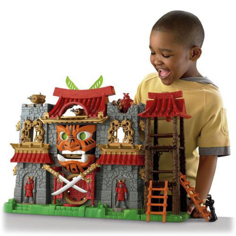 Best Castle Toys For Kids : Childrens imaginext samurai castle playset toy ages