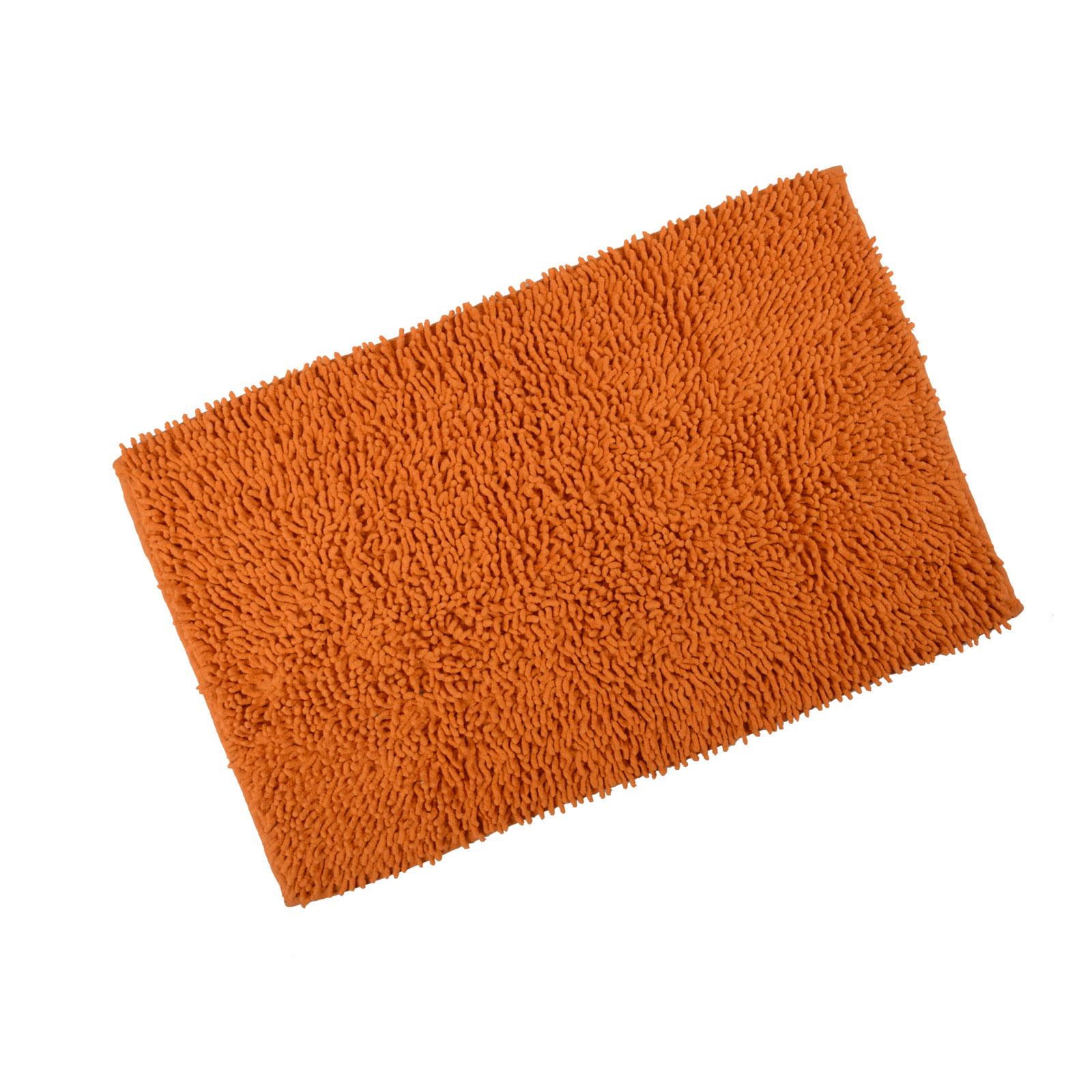 Odyssey Chenille Cotton Shower Bath Mat Soft Washable Bathroom Rug New - 80x50cm