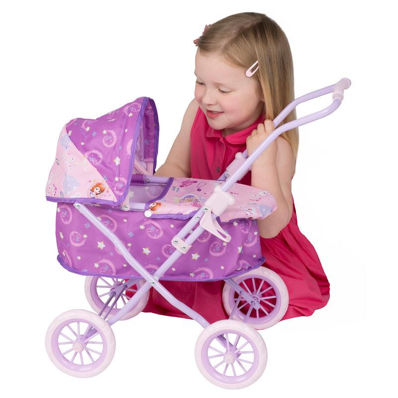 E Toys For Girls : Disney sofia the first mini dolls pram girls toy age
