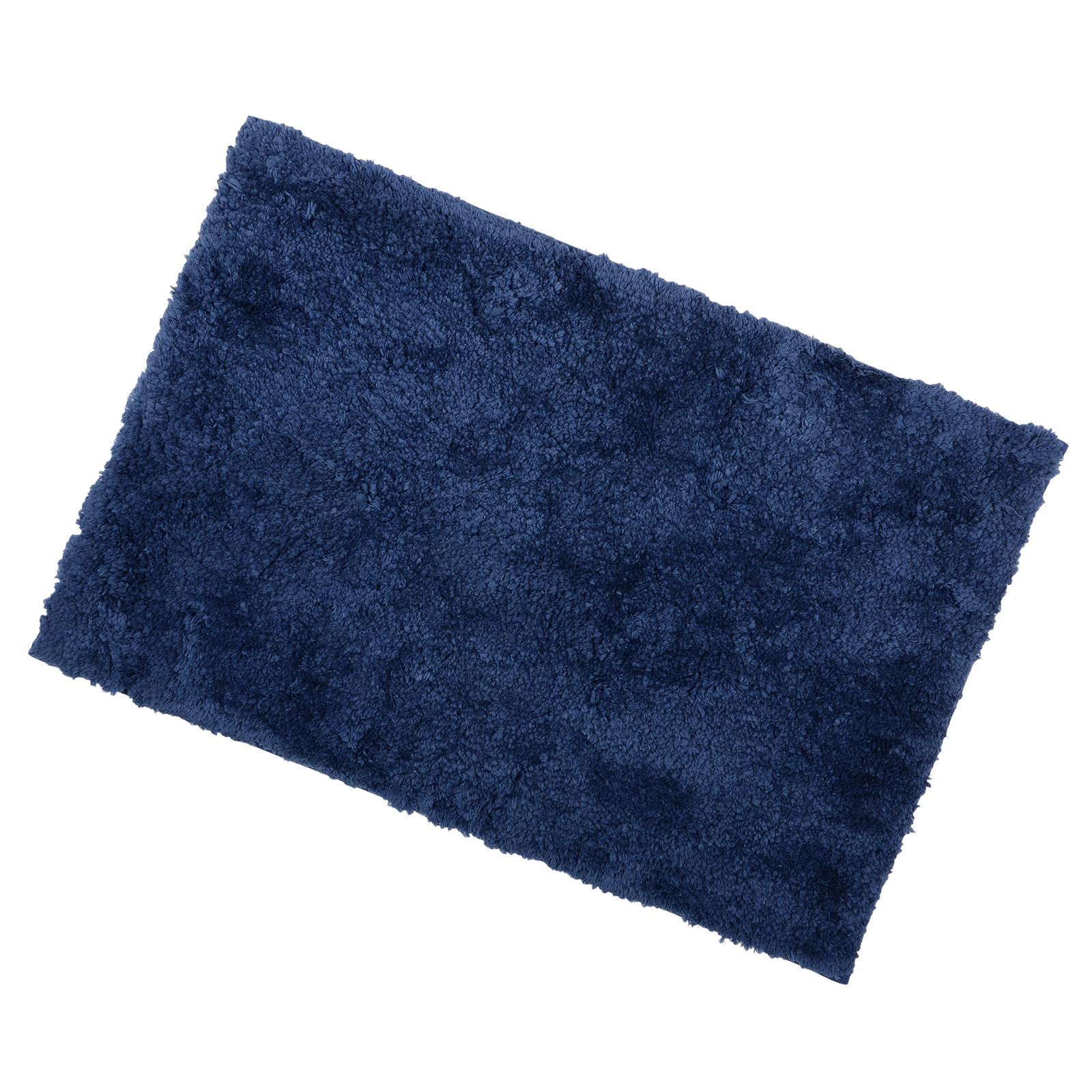 Soft Tufted Microfibre Bathroom Shower Bath Mat Rug Non Slip Back 12 Colours Ebay