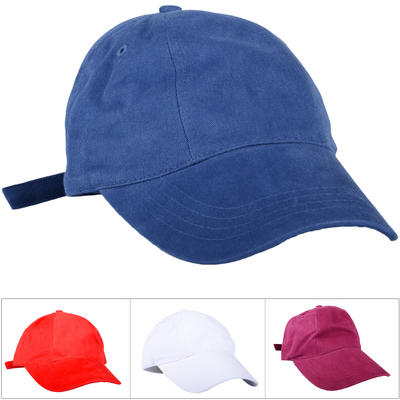 Wholesale Job Lot Of 24 Plain Adult Adjustable Baseball Caps