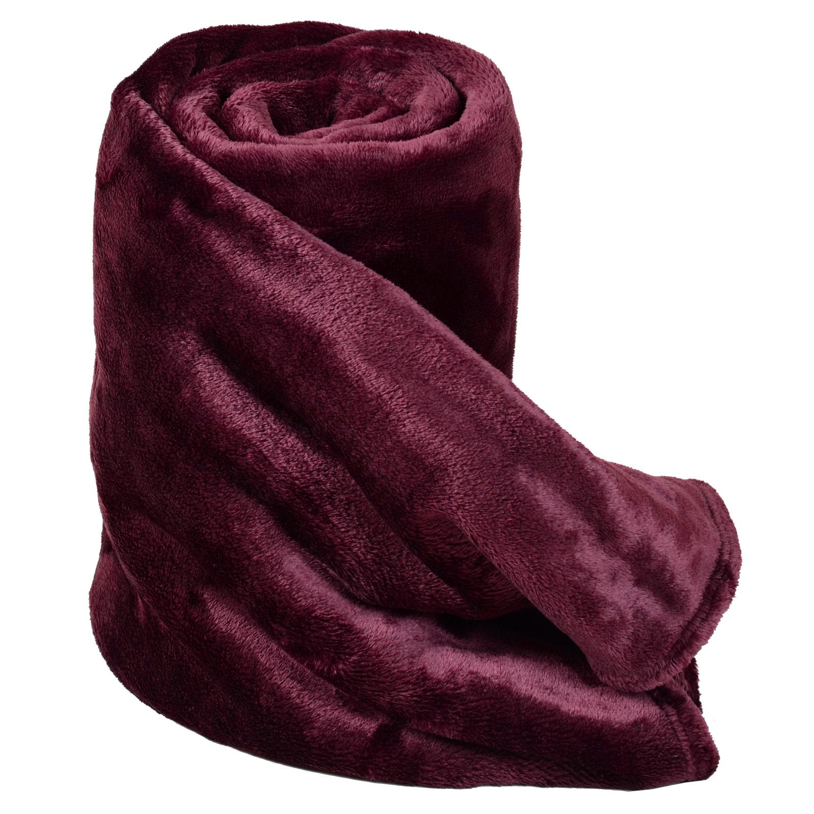 Fleece Blanket Super Soft Luxury Warm Home Sofa Bed Throw ...