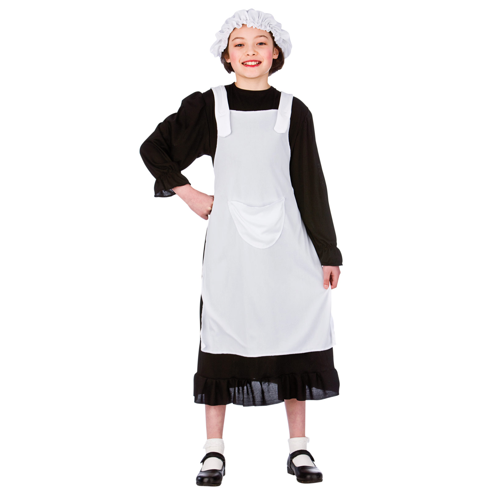 EG 3592_1600 kids tudor victorian poor girl peasant maid fancy dress up role,Childrens Clothes In Tudor Times