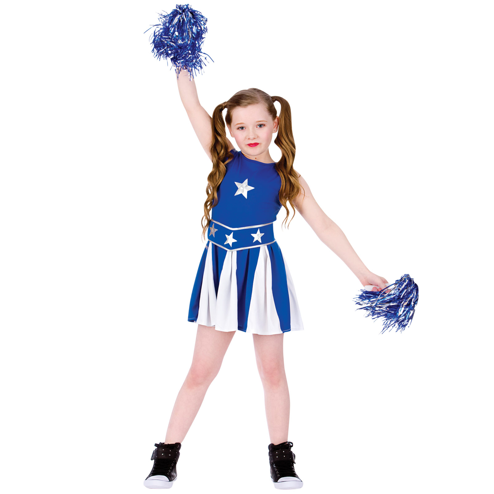 Kids High School Cheerleader Cheer Dress Halloween Costume Outfit ...