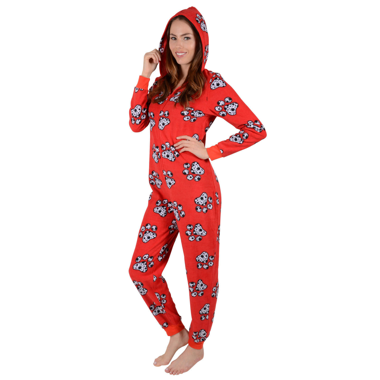 That's the perfect time to wear your loudest, proudest All In One Pajamas. Our extensive collection of All In One Pajamas in a wide variety of styles allow you to wear your passion around the house. Turn your interests, causes or fan favorites into a killer comfy pajama set.
