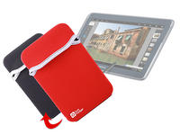 View Item Samsung Galaxy Note 10.1 Tablet Reversible Pouch Red/Black Tough Neoprene