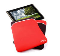 View Item Asus Transformer TF700 Tablet Reversible Pouch Red/Black Tough Neoprene