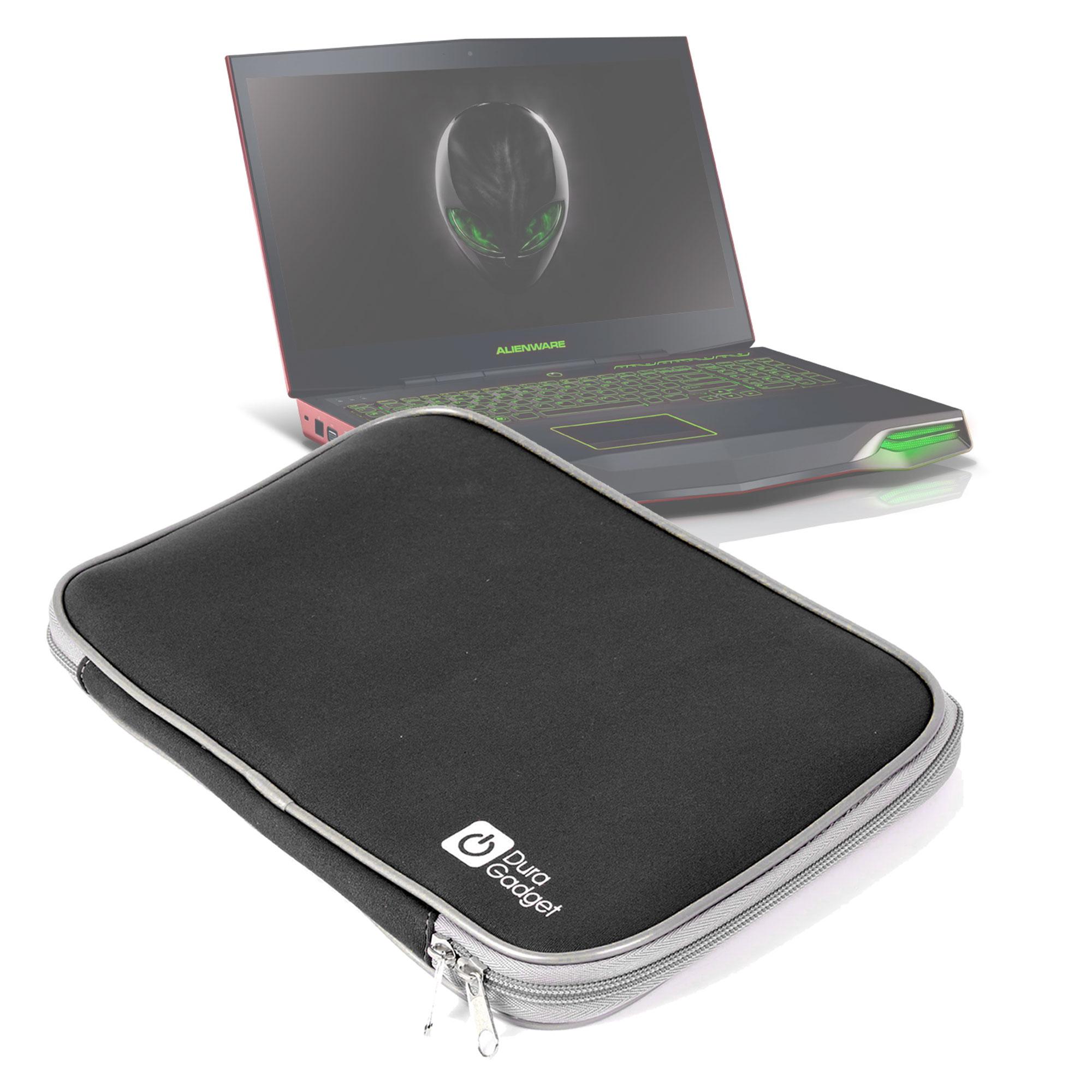 "Cool 17"" 17.3"" Neoprene Laptop Carrying Bag Sleeve Case Cover Holder+Hide Handle For Dell"