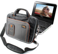 View Item Black & Orange Storage Case For Sony DVP-FX970 & DVP-FX720 Portable DVD Players