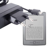 View Item EURO (EU) Two Pin Mains eReader Charger / Plug For New 2011 Amazon Kindle Range