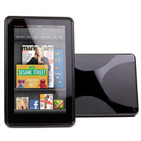 View Item Black TPU Protective Case For Amazon's Kindle Fire (2011/2012 - not for Fire HD)