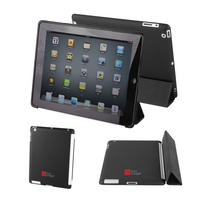 View Item Black Back Cover For The Apple iPad 2 - Works With Genuine iPad 2 Smart Cover