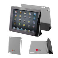 View Item Back Cover For Apple iPad 2 In Grey Works With Genuine Apple iPad 2 Smart Cover