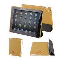 View Item Apple iPad 2 Back Cover In Tan - Works With The Genuine Apple iPad 2 Smart Cover
