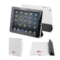 View Item Apple iPad 2 Back Cover In White - Works With Genuine Apple iPad 2 Smart Cover