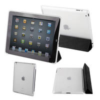 View Item Transparent Back Cover For Apple iPad 2 Fits The Genuine Apple iPad Smart Cover