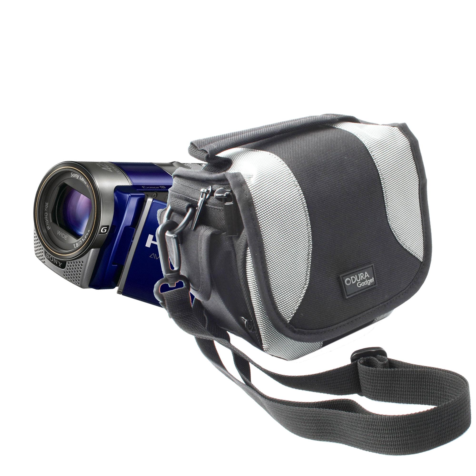 Housse de transport avec bandouli re pour cam scopes sony for Housse camescope sony