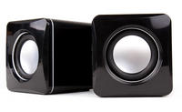 View Item Portable Mini USB Speakers For Laptops, Notebooks & PCs