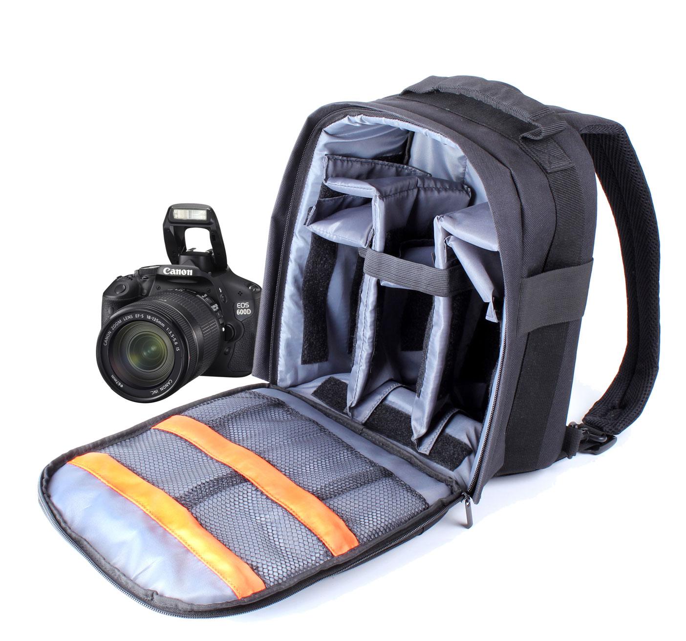 Camera Camera Bags For Dslr Canon slr dslr camera rucksackbackpack fits canon eos 60d 5d mark ii thumbnail 1