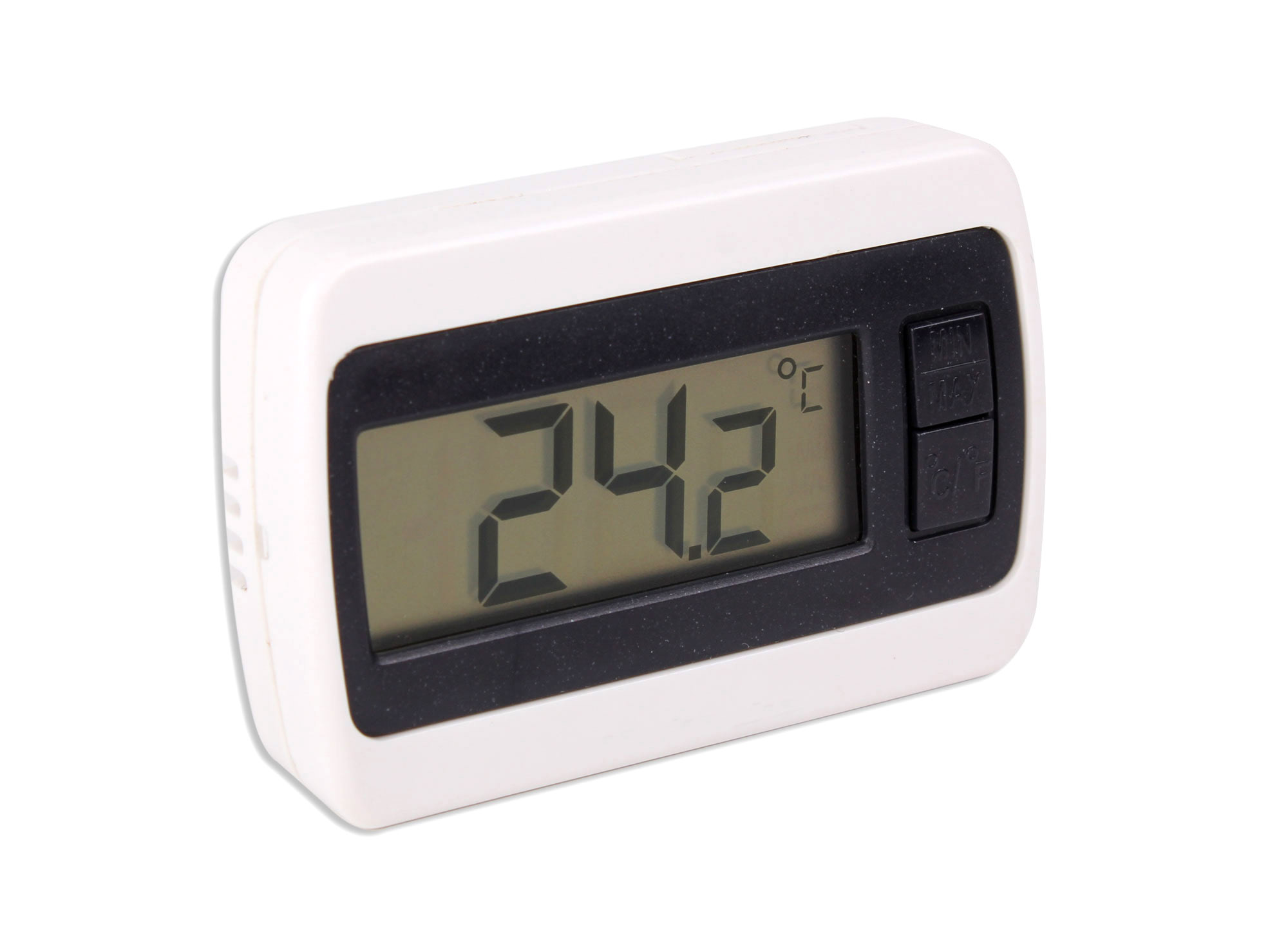 new indoor lcd room temperature thermometer gauge with. Black Bedroom Furniture Sets. Home Design Ideas