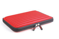 View Item Red Water &amp; Impact Resistant Memory Foam Notebook Carry Case For 10.2&quot; Netbooks