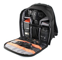 View Item Practical Water Resistant Padded Camcorder Rucksack Suitable For Canon XA10