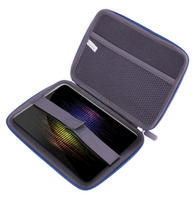 View Item Blue Hard EVA Tablet PC Carry Case Bag Fits New Google Nexus 7 Android Tab