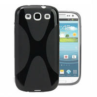 View Item Black Hard Shell Mobile/Cell Phone back Case/Cover Fits Samsung Galaxy S3/S III
