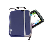 View Item DURAGADGET Protective Blue Pocket Pouch For Children's 7&quot; Tablets w/ Wrist Strap