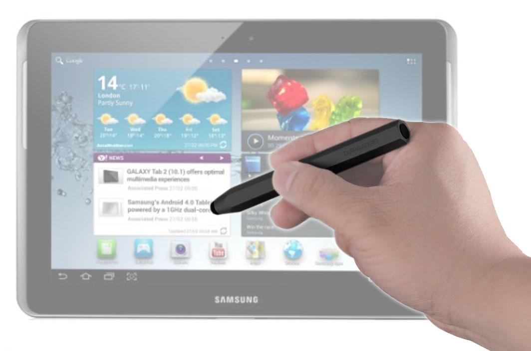 Stylet léger noir pour écran tactile pour la tablette Samsung Galaxy