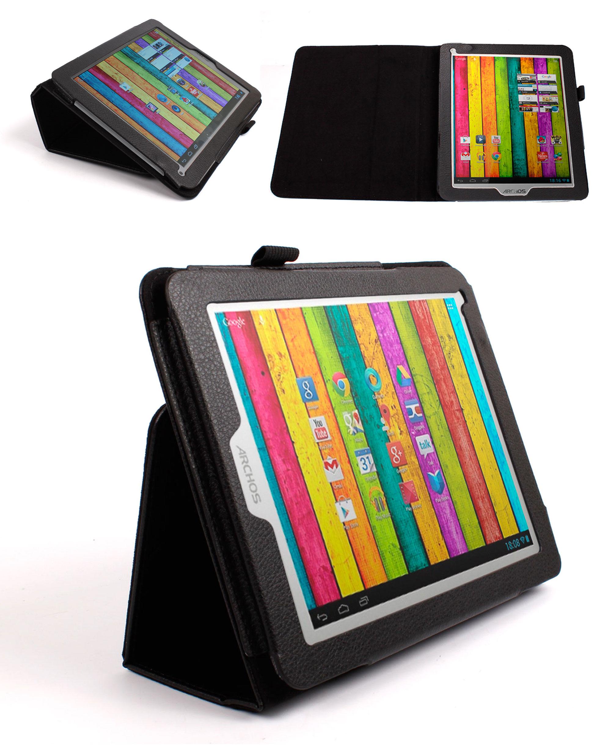 itm Etui noir pour Archos  Titanium tablette tactile pouces Android G WiFi
