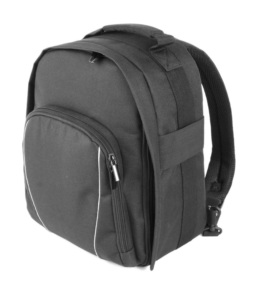 sac dos noir pour appareil photo num rique reflex canon powershot sx510 hs ebay. Black Bedroom Furniture Sets. Home Design Ideas