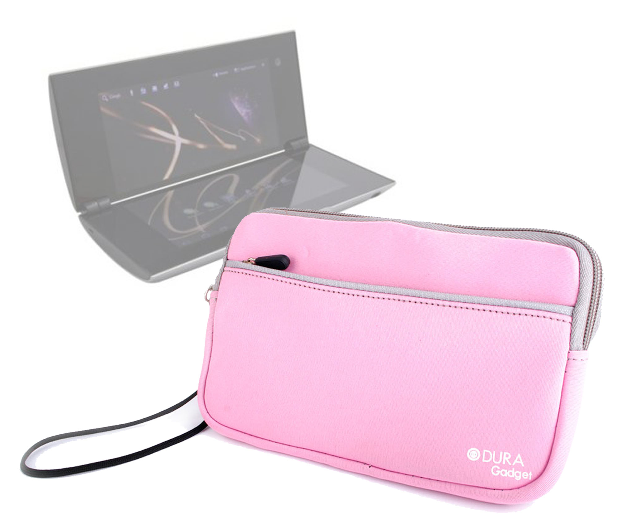 Etui housse n opr ne rose de protection pour tablette for Housse neoprene