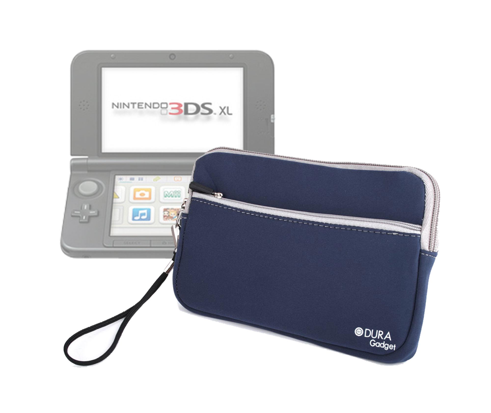 Tui housse de protection bleu pour console de jeux for Housse nintendo 3ds xl