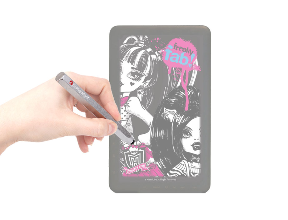 stylet gris pour cran de tablette tactile enfant monster high tablette par ingo ebay. Black Bedroom Furniture Sets. Home Design Ideas