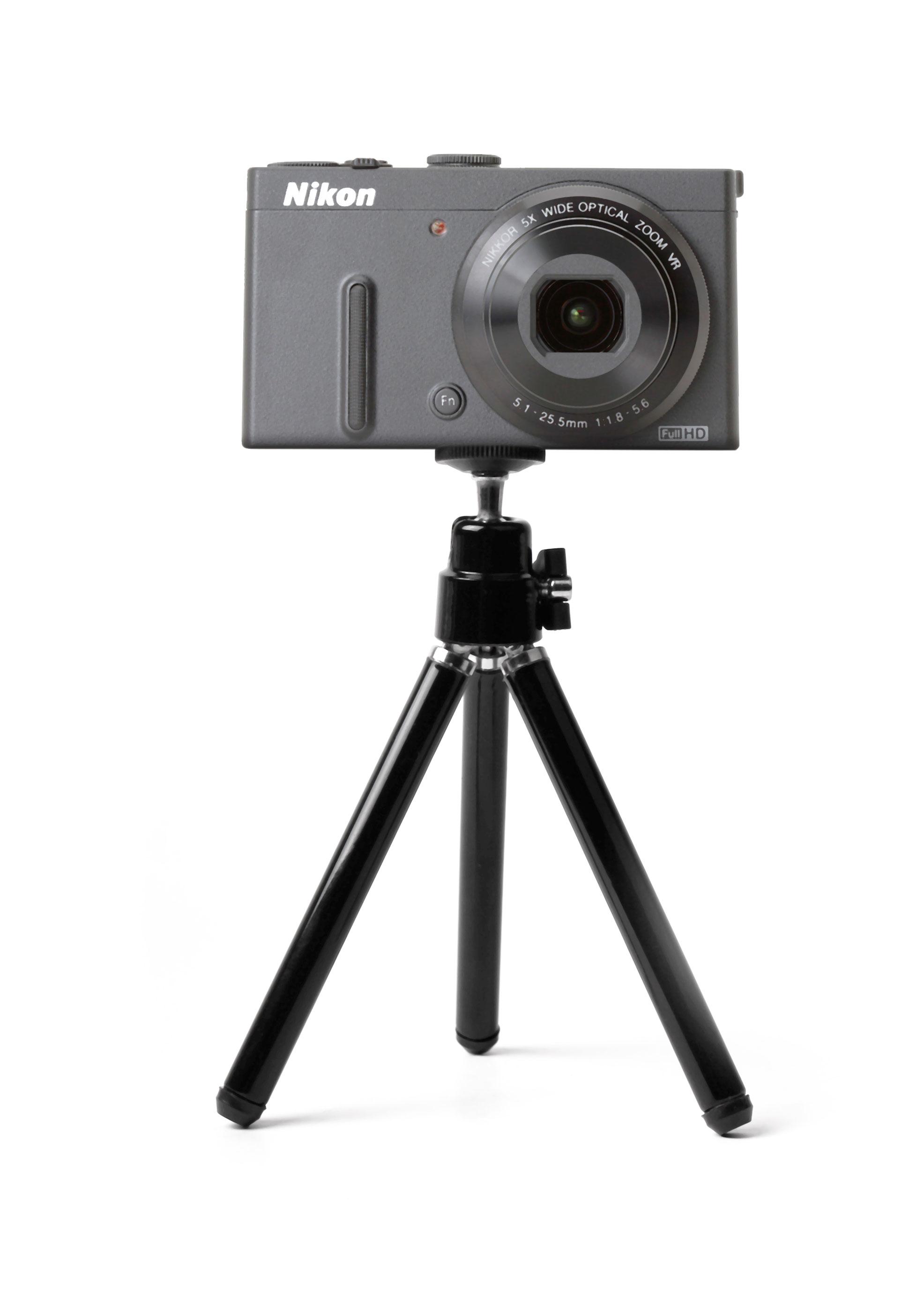 mini tr pied pour appareil photo nikon coolpix s6100 s2550 s3300 s2700 ebay. Black Bedroom Furniture Sets. Home Design Ideas