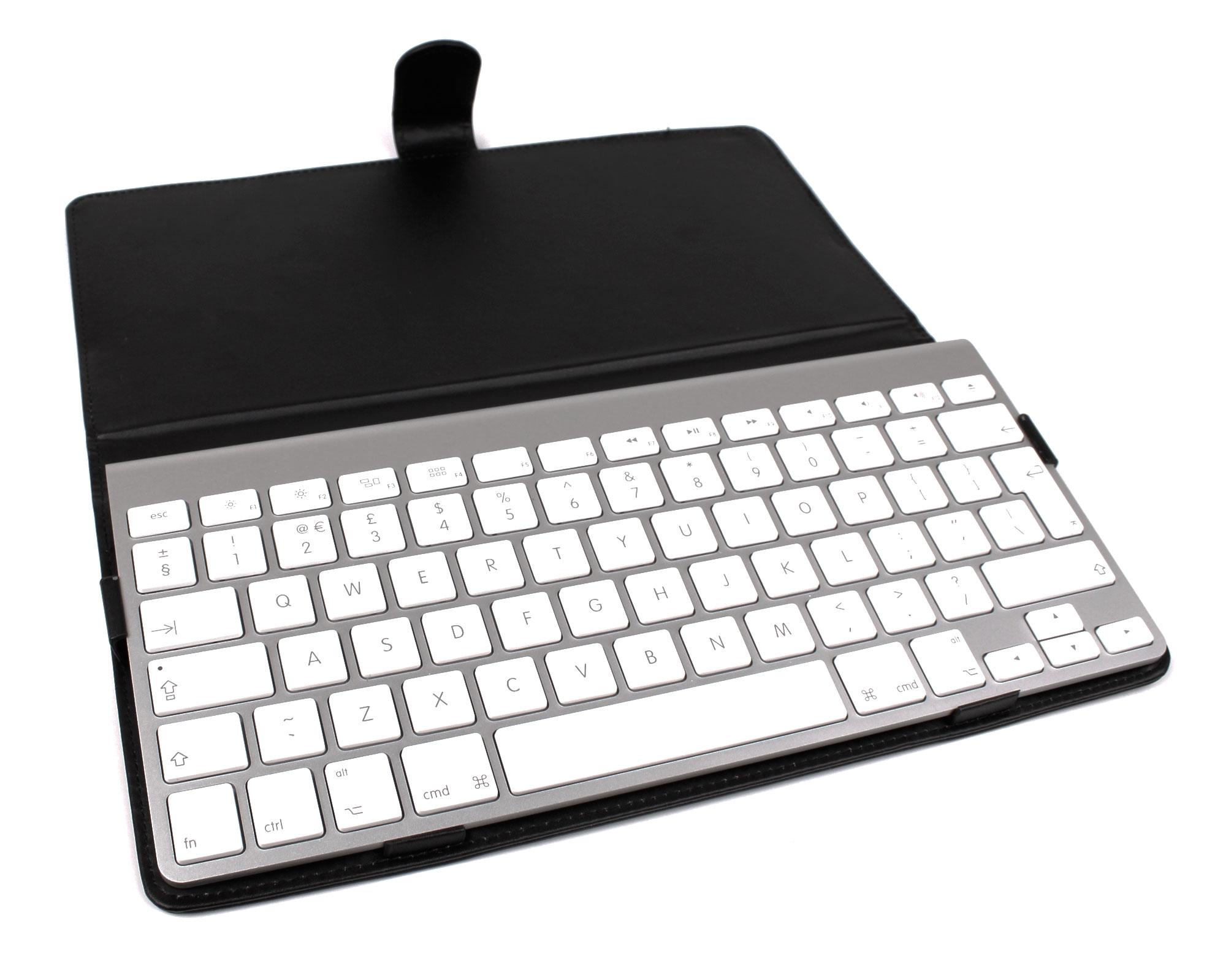 black pu leather protective case for apple mac wireless keyboard model a1314 ebay. Black Bedroom Furniture Sets. Home Design Ideas